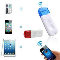 Wholesale Wireless Audio Adapter Bluetooth Usb - Car Bluetooth Kits, USB Wireless Handsfree Bluetooth Audio Music Receiver Adapter for iPhone 4 5 Mp4