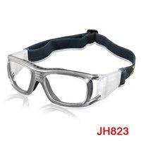 Wholesale Prescription Protective Goggles - Wholesale-Protective Sports Men's Basketball Outdoor Goggles Anti Impact Prescription Lenses Eyewear Glasses