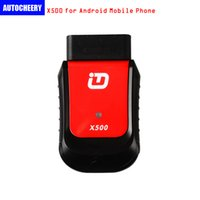 XTUNER X500 Bluetooth Diagnostic Tool funziona con Android Phone / Pad Reset dell'olio DPF Batteria ABS EPB TPMS IMMO Iniettore