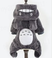 Wholesale Halloween Garfield - 2017 New Arrival Fashion Winter Pet Dog Clothes Cartoon totoro  Garfield Styling Dog Clothes gray and Orange Pet Winter clothes
