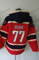 Unisex outlet winter jackets - Factory Outlet Old Time Hockey Jerseys Cheap Washington T J Oshie Jersey Fleece Hoodie Jersey Sweatshirt Winter Jacket T J TJ Oshie Jer