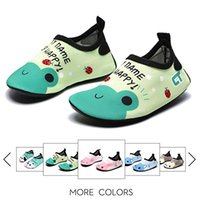 Wholesale Socks Shoe For Kids Girl - Kids Boys&Girls Sport Running Shoes Nakedfoot Soles Nakefit Beach Socks First Walk Moccasins 10 Colors Boots for Sliver Bath Swim