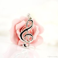 Wholesale Musical Directing - Factory direct beautifully creative music notation key ring pendants gift personalized musical note key chain