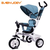 Wholesale Two Way Stroller - Wholesale-Hot EU Babyjoey children's tricycles, bicycles, baby, 1-3-5 years old baby stroller, two-way push free ride