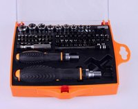 Wholesale Tools For Cameras Repair - 79 in 1 Professional Hardware Screwdriver Set Electronics Repair Tools Ratchet Tool Set for cellphone PC computer glass camera ect