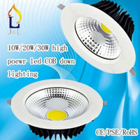 Wholesale T8 Round - 2015 hot sale T8 COB lamp series lighting COB surface mounted embed down light price 10w 20w 30w