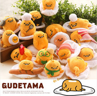 Wholesale 2015 New arrival Doll GUDETAMA EGG Small Pendant Doll Soft Plush Mini Tsum Tsum Plush Toy