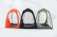 Wholesale Hold Watches - Wholesale- 2 person 2 door automatic private view sunshade shelter contest holding watching sport pop up beach fishing outdoor camping tent