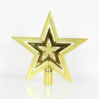 Wholesale Pentagram Hair - Christmas tree star pentagram Topstar christmas decoration lembrancinhas new year enfeites de natal beautiful noel christmas