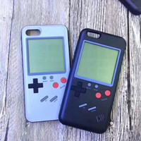 Wholesale Iphone Retro Game - New game console phone shell retro childhood toys accompany iphone phone case built Tetris tank battle game