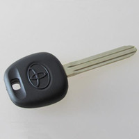 Wholesale Transponder Key Blanks Shell - Free shipping TPX transponder replacement car key blank shell for Toyota FOB key cover 20pcs lot