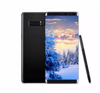 Wholesale Chinese Curve - 6.2inch Goophone note 8 Curved screen Note8 1GB 4GB 1440*720 Android 7.0 Show 64GB fake 4G LTE unlocked Cellphone