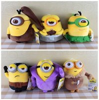 120pcs 20sets Film Minions Plüschtiere Stoffpuppen Super Soft Toys High Quality Dolls 8