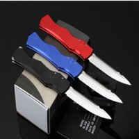 Wholesale Halo Sales - Hot sale Computer operation of halo 4 knife three colors Hunting Folding Pocket Knife Survival Knife Xmas gift for men 1 pcs freeshipping