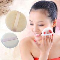 Wholesale Large Powder Puffs - 5 Pcs Portable Face Sponge Makeup Cosmetic Powder Puff Large H00172*5