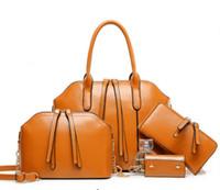 Lash Package Handbags Designers BUY 1 GET 3 FREE Mulit 4 Colors Totes 4Pcs  Lot PU Leather Bags Hot