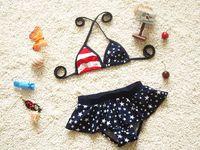 Wholesale Girls American Flag Bikinis - cute girls swimsuits american flag bikini swimsuit baby swimsuits girls swimwear girl 2 piece swimwear bikini free shipping in stock