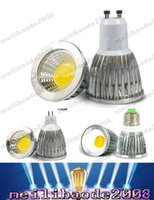 COB 6W 9W 12W Led Projecteurs Lampe 60 90 120 Angle GU10 E27 E26 MR16 GU5.3 Dimmable Led Ampoules Chaud / Cool Blanc MYY158