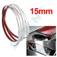 Silver Car Van Grade Interior Exterior Cromagem Moldagem Trim Strip 3m M22012 Chromium Styling Cheap Chromium Styling
