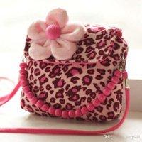 Wholesale Handbag Kids - Retail 1PC Baby Girls HandBags Sweet Princess Flower Shoulder Bag Small Bags For Kids ZZ2984