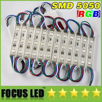 Wholesale SMD RGB Led Modules V W Leds High Power Backlight Led Light Modules Case Waterproof Warm Cold White Red Green Blue