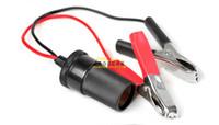 ingrosso cavi della batteria auto-30A Car Battery Terminal Morsetto di prova Clip isolata Morsetto a coccodrillo Cavo a coccodrillo automatico Accendisigari Batteria