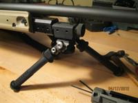 armas ferroviárias venda por atacado-Venda quente BT10-LW17-Atlas Ajustável gun Bipod Monte Diretamente Para Qualquer Estilo 1913 Picatinny Rail Preto CL17-0019bk