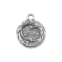 ingrosso gioielli che fanno gli accessori della porcellana-50pcs in lega di zinco uccello nido accessori gioielli di fascino made in china