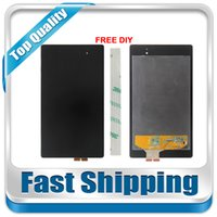 Wholesale Nexus Replacement Display - Wholesale- For New Asus Google Nexus 7 2nd Generation 2013 ME571K ME571KL Replacement LCD Display Touch Screen Assembly Black Free Shipping