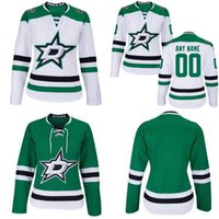 Wholesale Red Bishops - Lady Dallas Stars Jersey 2 Dan Hamhuis 5 Jamie Oleksiak 23 Esa Lindell 29 Greg Pateryn 30 Ben Bishop 33 Marc Methot Custom Hockey Jerseys