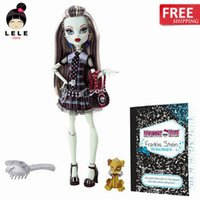 Wholesale Draculaura Original - Wholesale-Original dolls Favorite protagonist Series,Clawdeen Wolf,Draculaura,Frankie stein dolls for girls  Free shipping