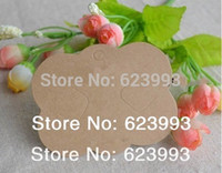 Wholesale Hair Accessories Display Cards - Wholesale-Wholesale Blank 500pcs Lot display paper card for hairs bows Jewelry bow hair accessory hair clip bow packaging 3.5''