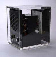 ingrosso filtri uv leggeri-Purificatore d'aria Elettrodomestici Mini filtro aria (filtro HEPA + filtro carbone + filtro fotocatalitico + luce UV + ionizzatore + ozono) HE-223AC (Acrilico)