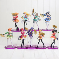 Wholesale action love - 15-19cm Anime Love Live Figure School Idol Project PVC Action Figures Toys Honoka Kousaka Project Action Figure Toy