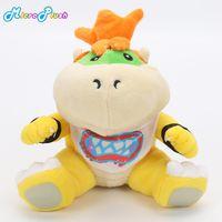 Wholesale mario bros brothers online - 5pcs Super Mario bros plush toys quot cm Koopa Bowser dragon plush doll Brothers Bowser JR soft Plush
