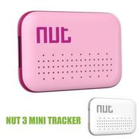 etiquetas inalámbricas al por mayor-Nut3 Nut 3 Smart Finder Bluetooth Tracking Key Wireless Mini Smart Tracker Tag para niños Pet Key Finder Sensor Alarma Localizador GPS VS Nut 2