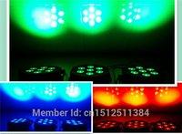 Wholesale Auto Noise - Wholesale-8pcs lot American DJ LED Flat Par SlimPar No Noise 7x9W RGB 3IN1 3 7Channels