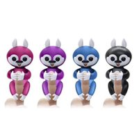 Wholesale Finger Function - Christmas gift 6 color Finger Monky Interactive finger monkey with 40+ function Smart touch fingers monkey for Christmas With retail package