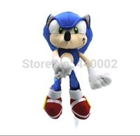 Al por mayor-venta al por mayor de Sonic The Hedgehog Plush Toy Doll Llavero 8