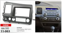 Wholesale honda civic mounts for sale - Group buy CARAV car radio mounting stereo install trim installation DIN dash kit for HONDA Civic Sedan Left Wheel