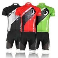 Wholesale Colorful Bib Short Pants - 2013 cycling jersey summer Cycling BIB Shorts Sports Clothing Short Sleeve colorful chequer Bike Riding Pant Black red green