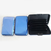 Wholesale Wholesale Holders For Bags - Fashion Aluminum Candy Color ID Credit Card Holders Bags passport covers For Men Women shipping DHL60147