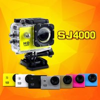 SJ4000 1080P Full HD Action Digital Sport Camera Pantalla de 2 pulgadas bajo impermeable 30M DV grabación Mini Sking Bicycle Photo Video Camera