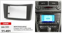 Wholesale Stereo W211 - CARAV 11-451 Top Quality Radio Fascia forMERCEDES-BENZ E-klasse(W211)CLS-klasse(C219)Stereo Fascia Dash CD Trim Installation Kit