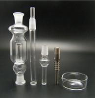 colector de cenizas vaporizador al por mayor-ar Collector 2.0 Nectar colector water smoking pipe bong catcher vaporizador de titanio colar un toke clavo de cuarzo Titanium Nail 14 18