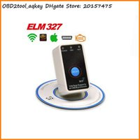 Wholesale Honda Stores - AQkey OBD2tool WIFI Elm327 V2.1 Super Mini Wifi On off Switch OBD2 OBDII Elm 327 for IOS iphone ipad Android WI-FI elm 327 Store: 20157475