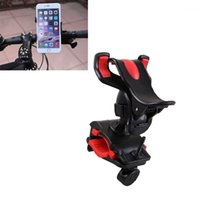 Wholesale Gps Trac - Universal 360 Swivel Bicycle Bike Phone Holder Cycling Support Stand Mount Bracket for iPhone Samsung Cellphone GPS MP4 MP5 order<$18no trac
