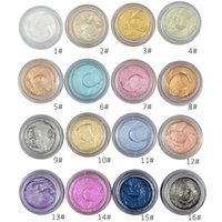 New 16 Colors 3D Eyeshadow Love Alpha Long lasting Shimmer Eye Shadow Cream Trucco dell'occhio Marca Trucco cosmetico