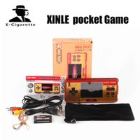 Wholesale Hold Out - XINLE pocket Game 638 games children's handheld game player 3.0 inch color screen game console hand-held gaming device