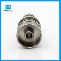 Wholesale Factory Wholsale - Freeshipping MJB-6TM48 Titanium Nail Domeless Titanium Nails Titan Nail with Male Joint for Glass Pipe Bong factory outlets wholsale
